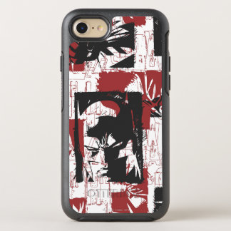 Batman Urban Legends - Mask & Fist Stamp Red OtterBox Symmetry iPhone 7 Case