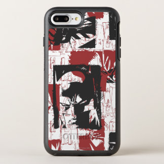 Batman Urban Legends - Mask & Fist Stamp Red OtterBox Symmetry iPhone 7 Plus Case