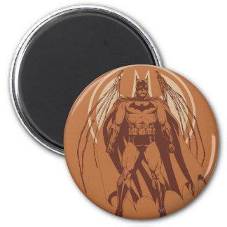 Batman Urban Legends - Orange Wings 2 Inch Round Magnet