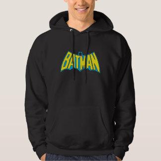 Batman | Vintage Yellow Blue Logo Hoodie
