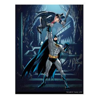 Batman vs. Penguin Postcard