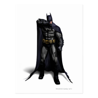 Batman Wiping His Brow Postcard