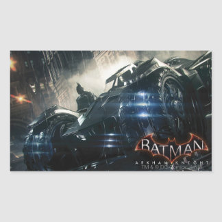 Batman With Batmobile In The Rain