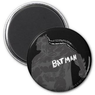 Batman - Wordy 2 Inch Round Magnet