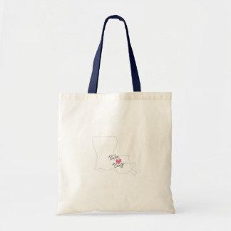 Baton Bouge Tote Bag