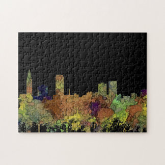 Baton Rouge Louisiana Skyline Safari Buff Puzzle