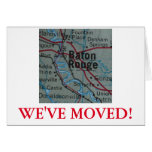 Baton Rouge nous avons déplacé le faire-part Carte De Vœux