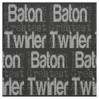 Baton Twirler Extraordinaire Fabric
