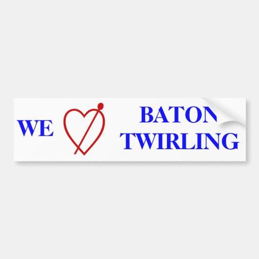 Baton Twirling Bumper Stickers