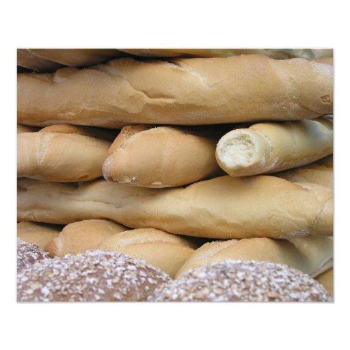 Batons de pain impression photographique