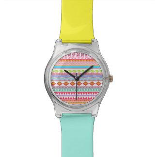 BatOwl Peruvian Pattern XTRA Wrist Watch