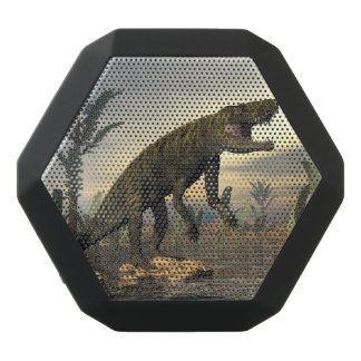 Batrachotomus dinosaur -3D render Black Bluetooth Speaker