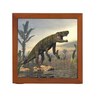 Batrachotomus dinosaur -3D render Desk Organizer