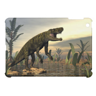 Batrachotomus dinosaur -3D render iPad Mini Cases