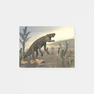 Batrachotomus dinosaur -3D render Post-it Notes