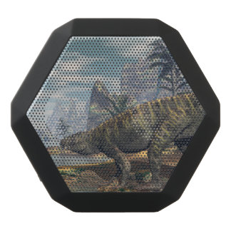 Batrachotomus dinosaurs -3D render Black Bluetooth Speaker