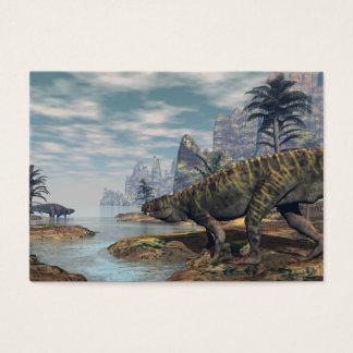 Batrachotomus dinosaurs -3D render Business Card