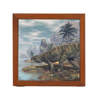 Batrachotomus dinosaurs -3D render Desk Organizer