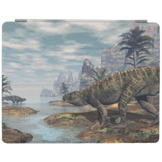 Batrachotomus dinosaurs -3D render iPad Cover