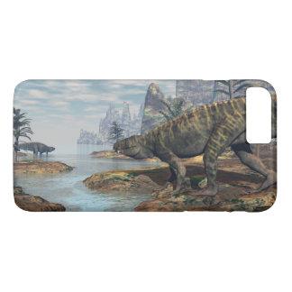Batrachotomus dinosaurs -3D render iPhone 8 Plus/7 Plus Case