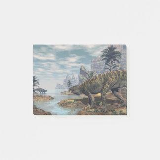 Batrachotomus dinosaurs -3D render Post-it Notes