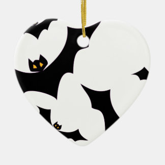 Bats #2 ceramic ornament