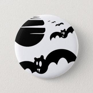 Bats #4 2 inch round button