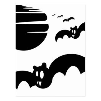 Bats #4 postcard