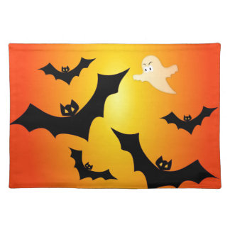 Bats and a Ghost Placemats