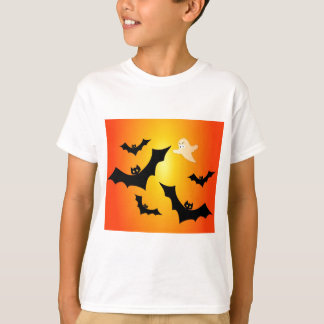 Bats and a Ghost T-Shirt