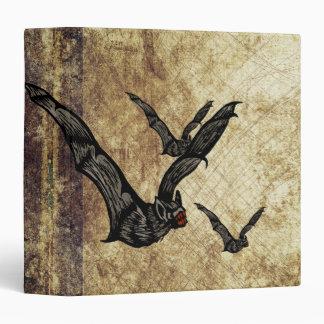 Bats and Bats Vinyl Binders
