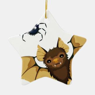 Bats Ceramic Ornament
