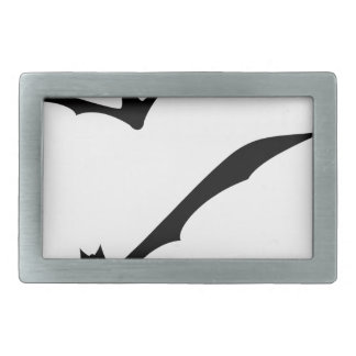 Bats Flying Belt Buckle