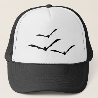 Bats Flying Trucker Hat