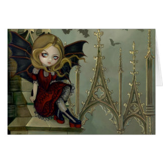 """Bats in the Belfry"" Greeting Card"