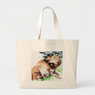 bats in the belfry large tote bag