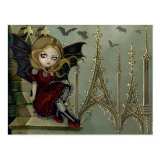"""Bats in the Belfry"" Postcard"