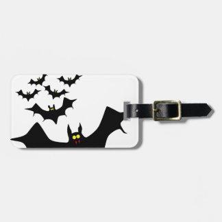 Bats Luggage Tag