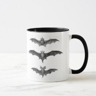 Bats Vintage Print Coffee Mug