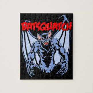 Batsquatch Jigsaw Puzzle