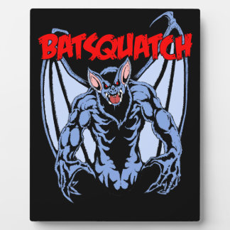Batsquatch Plaque
