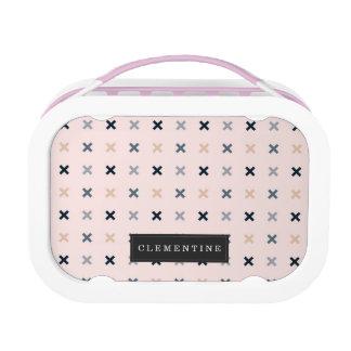 Batsu X Minimalist Pattern Lunch Box