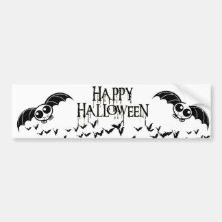 Batte mignonne de bande dessinée de Halloween Autocollant De Voiture