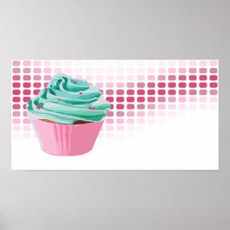 battements de boulangerie : petit gâteau poster