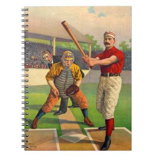 Batter Up 1895 Notebook