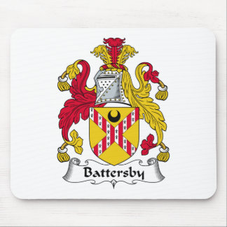 Battersby Family Crest Mouse Pad