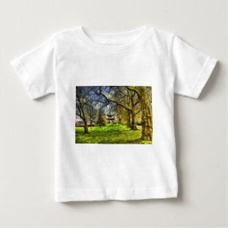 Battersea Park Pagoda Art Baby T-Shirt
