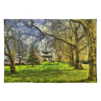 Battersea Park Pagoda Art Placemat