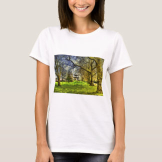 Battersea Park Pagoda Art T-Shirt