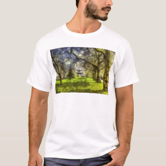 Battersea Park Pagoda Art T-Shirt